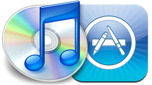 iTunes e os aplicativos
