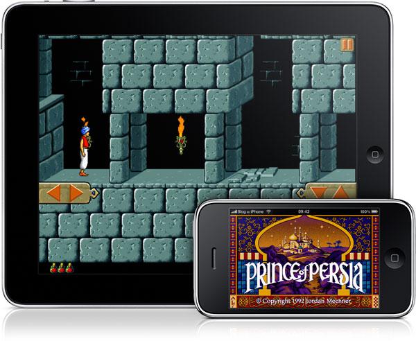Photo of Já disponível o clássico jogo Prince of Persia para iPhone, iPod touch e iPad