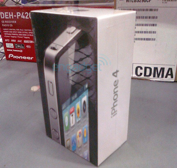 Photo of [geek] Surge a primeira foto da caixa do novo iPhone 4