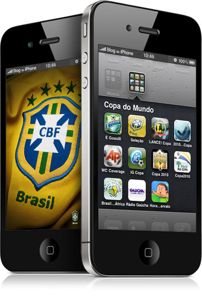 Copa do Mundo no iPhone