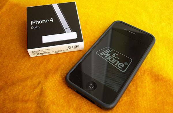 Photo of [unboxing] Veja de perto o Dock do iPhone 4 e a proteção Bumper