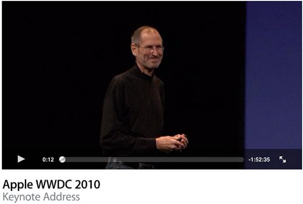 Photo of Apple disponibiliza em vídeo a íntegra da apresentação da WWDC 2010