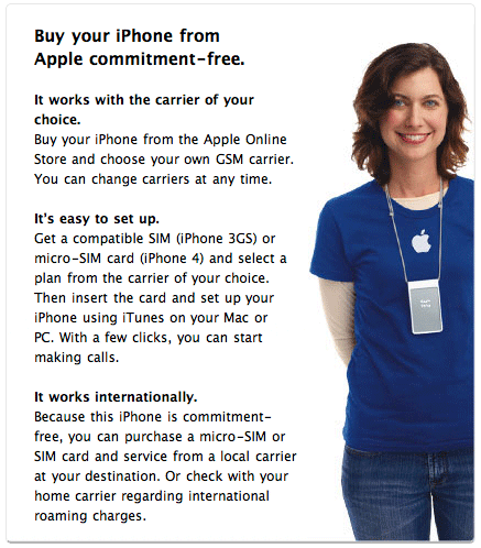 Photo of Apple confirma venda internacional de iPhone 4 desbloqueado de fábrica