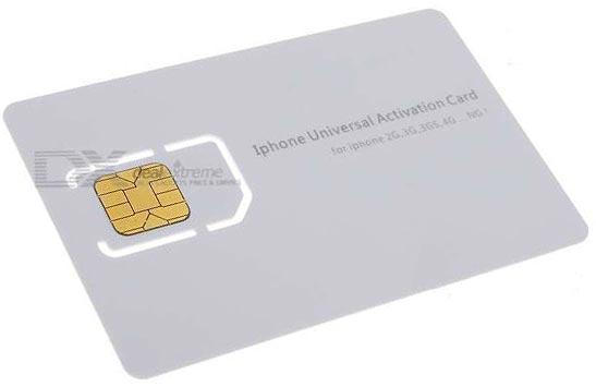Cartrão SIM universal