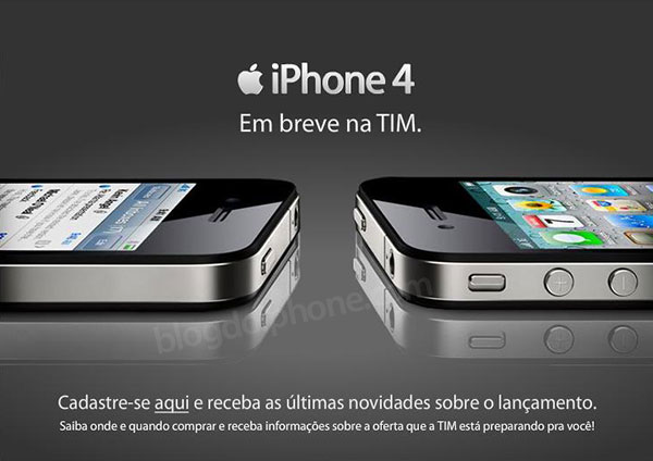 iPhone 4 na TIM