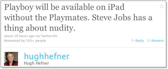 Photo of Revista Playboy terá versão para iPad, mas sem mulheres nuas