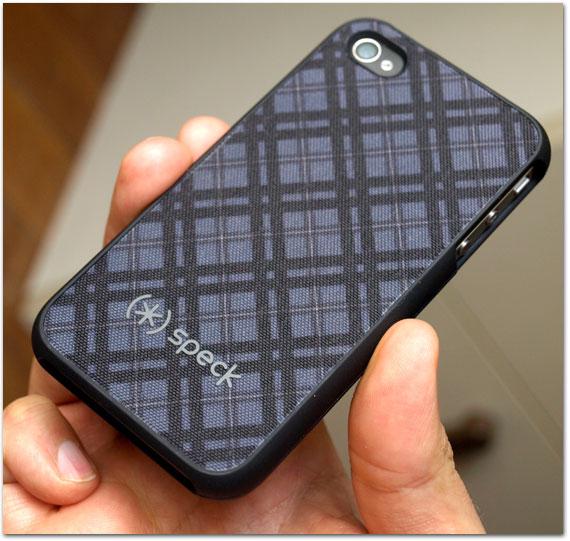 4b760f6f64a Capas iPhone 4: conheça a Speck Fitted, uma das opções oferecidas ...