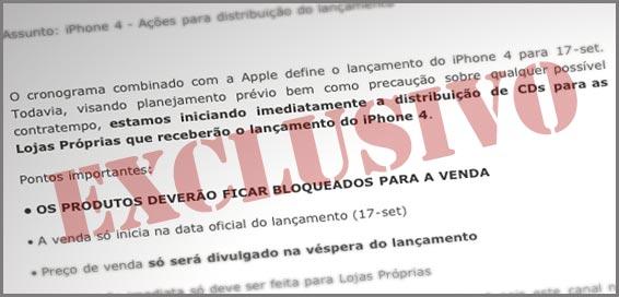 Photo of [EXCLUSIVO] Documento interno da Vivo confirma data de lançamento do iPhone 4 para o dia 17