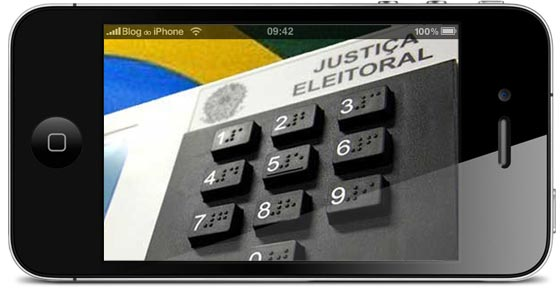 Eleições no iPhone