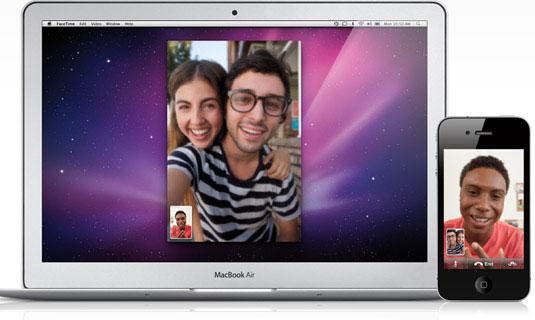 Photo of Apple traz FaceTime para o Mac, permitindo videoconferência com iPhone e iPod touch