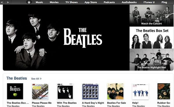 Photo of Como previsto, Apple lança discografia completa de The Beatles na iTunes Store