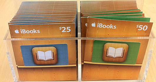 Photo of Apple começa a vender em suas lojas iBooks Gift Cards, cartões de presente para livros