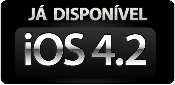 Photo of Liberada versão final do iOS 4.2.1 para iPhones, iPods touch e iPad