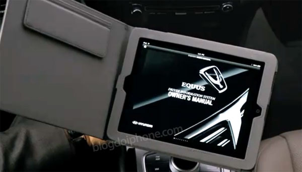 Photo of Hyundai Equus, o carro que vem com um iPad como manual de bordo
