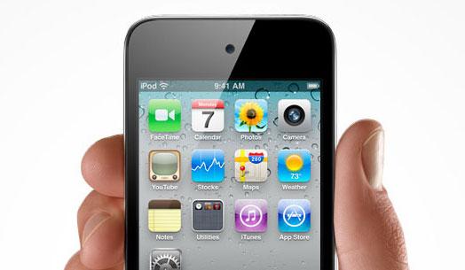 iPod touch de natal