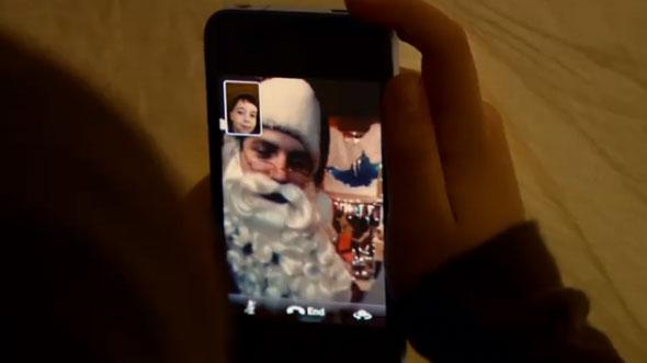 Photo of Apple divulga novo comercial do FaceTime do iPhone 4 para o Natal