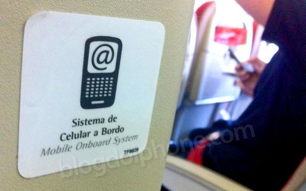 Photo of Testamos o serviço OnAir da TAM, que permite usar o celular em pleno voo