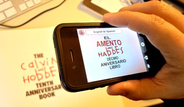 Photo of Word Lens traduz qualquer palavra em inglês usando a câmera do iPhone