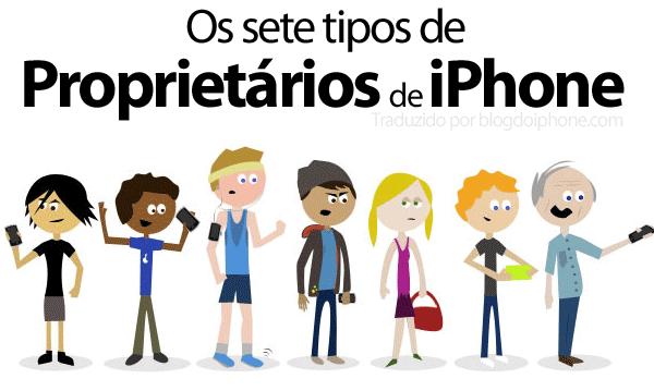 Os 7 tipos de usuários de iPhone