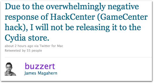 hackrimbecil1 FDPs hackeiam o Game Center