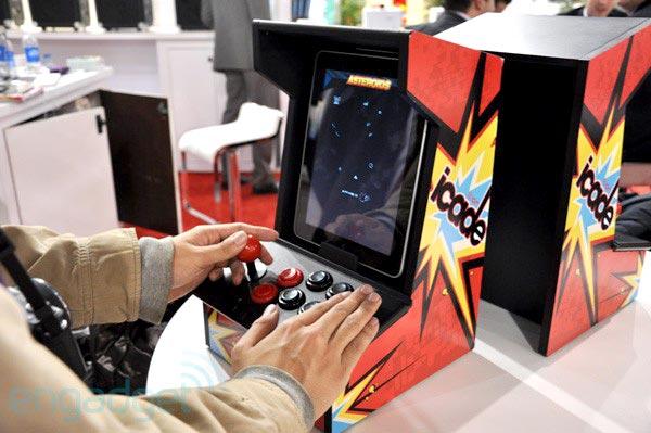 Photo of [CES 2011] iCade transforma o seu iPad em uma máquina de fliperama