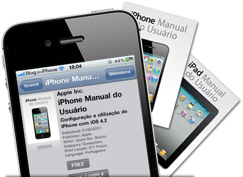 Photo of Apple libera manuais do iPhone e iPad em português no formato ePub, para ler no iBooks