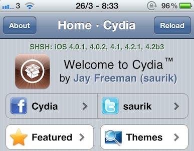 Photo of Cydia: fininho, levinho e mais rapidinho com sua nova versão 1.1