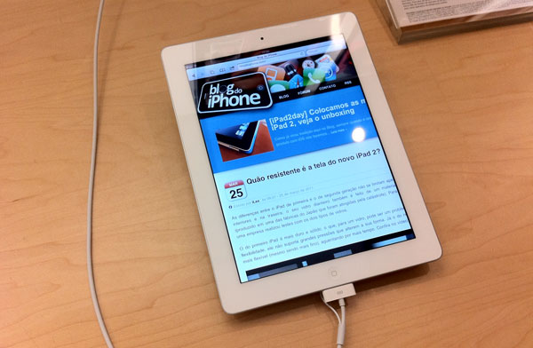 iPad 2 branco