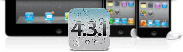 Photo of De surpresa, Apple libera atualização do iOS 4.3.1 para iPhones, iPods touch e iPads