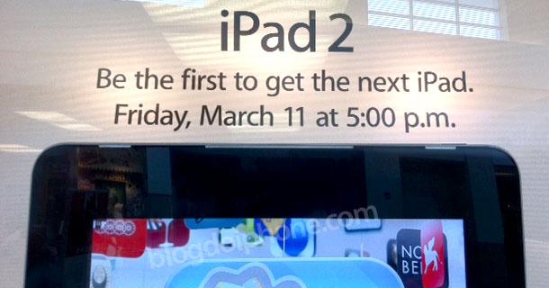 Lançamento do iPad 2