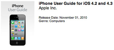 Photo of Apple disponibiliza Manual do iOS 4.3 para iPhone e iPod touch
