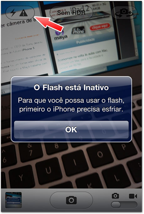 Photo of Bug do Flash fotográfico atinge usuários de iPhone 4 com iOS 4.3.1