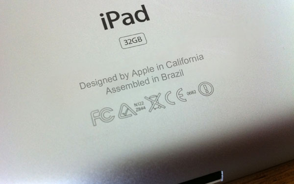 iPad made in Brazil