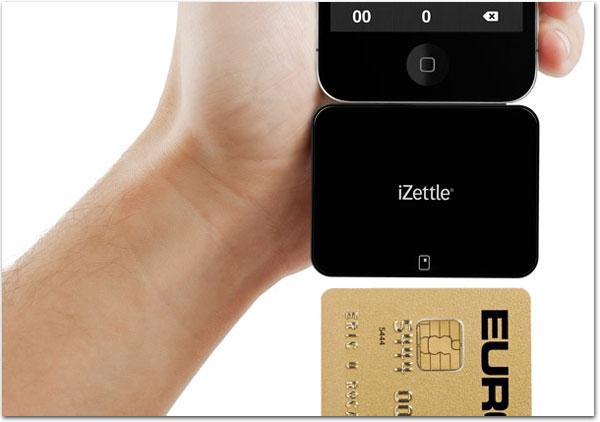 Photo of iZettle transforma o iPhone em um leitor de cartões de crédito com chip