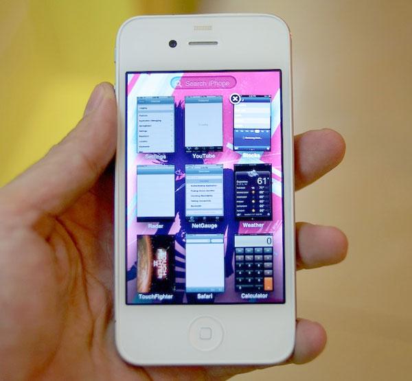 Multitarefa no iOS 4