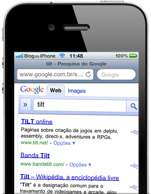 Photo of Deu tilt: Google brinca com easter egg no Safari do iPhone