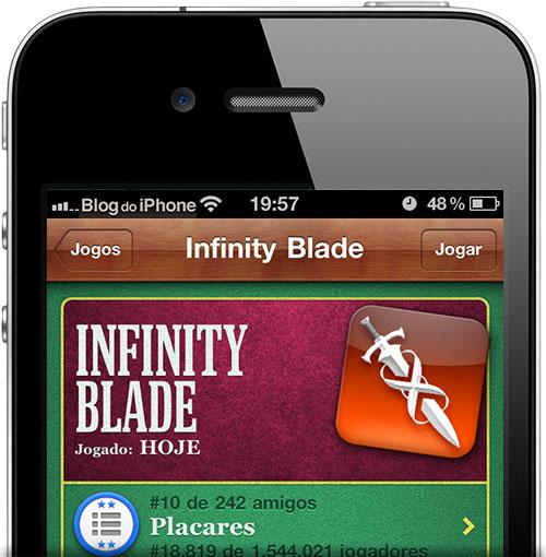 Photo of Não tem com quem duelar no Infinity Blade? Então adicione nossos leitores no seu Game Center