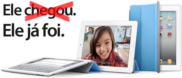 Photo of Grande procura faz iPad 2 se esgotar nas lojas físicas e online já no primeiro dia
