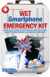 Photo of Kit promete secar iPhones que tenham acidentalmente caído na água