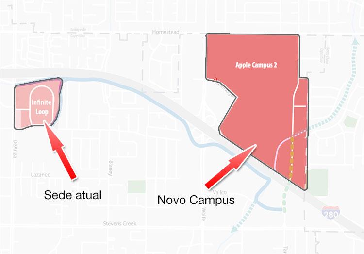 Apple Campus 2 Terreno