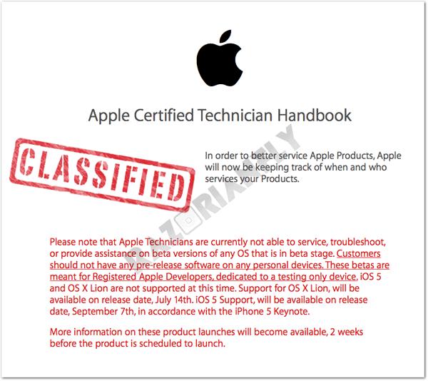 Photo of Rumor com cara de fake: documento indicaria a data de lançamento do iOS 5