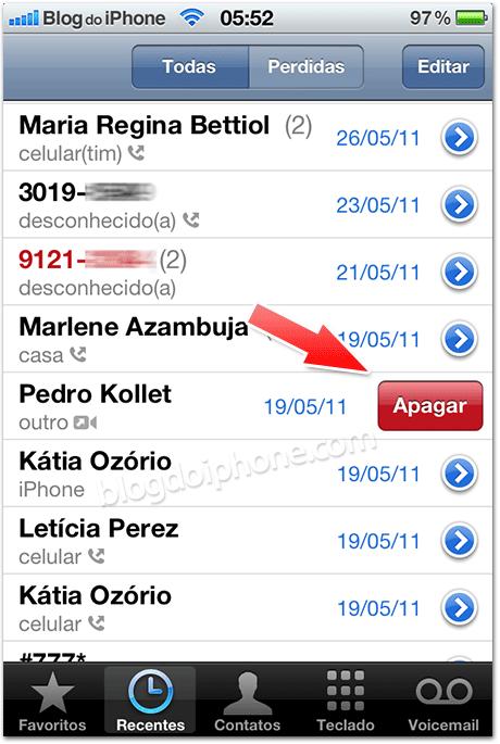 Photo of [Aperitivo iOS 5] Futuro iOS permitirá apagar chamadas individualmente