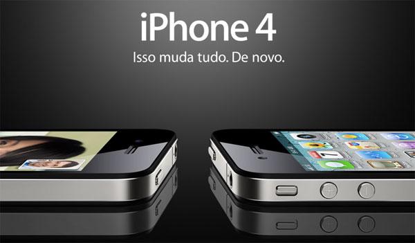 iPhone 4 - Isso muda tudo. De novo.