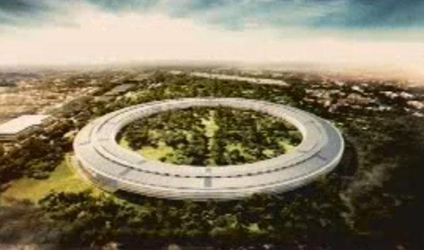 Photo of Apple planeja construir novo campus em Cupertino em forma de nave espacial