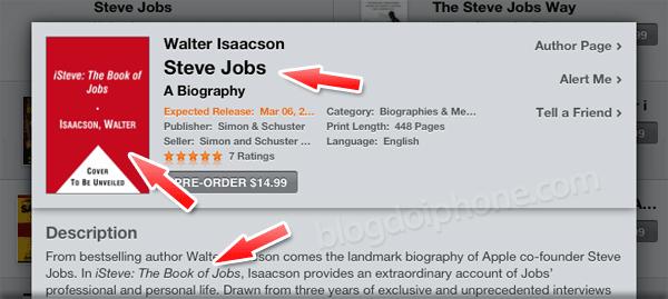 Photo of Biografia autorizada de Steve Jobs terá um título mais simples que o inicial