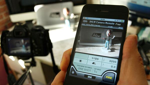 Photo of Aplicativo permite controlar sua câmera DSLR direto no iPad ou iPhone