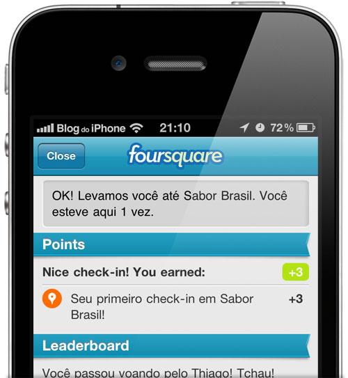 Photo of Aplicativo Foursquare começa a receber tradução para o português [atualizado]