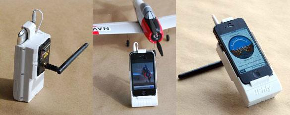 Photo of Empresa adapta controle por rádio de aeromodelos para o iPhone ou iPod touch