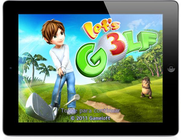 Photo of Gameloft lança jogo Let's Golf 3 com sorteio de um iPad 2