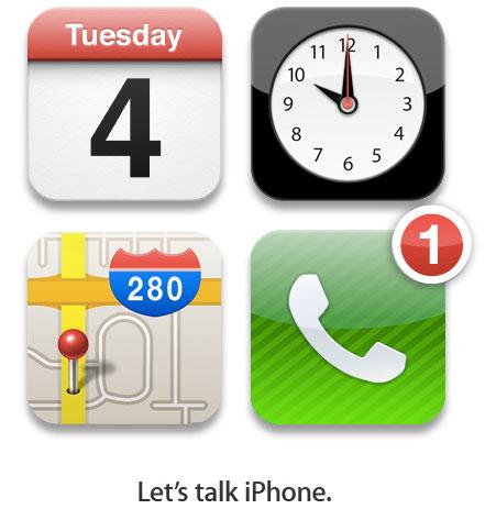 Evento de apresentação do iPhone